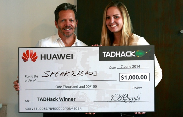 huawei big check
