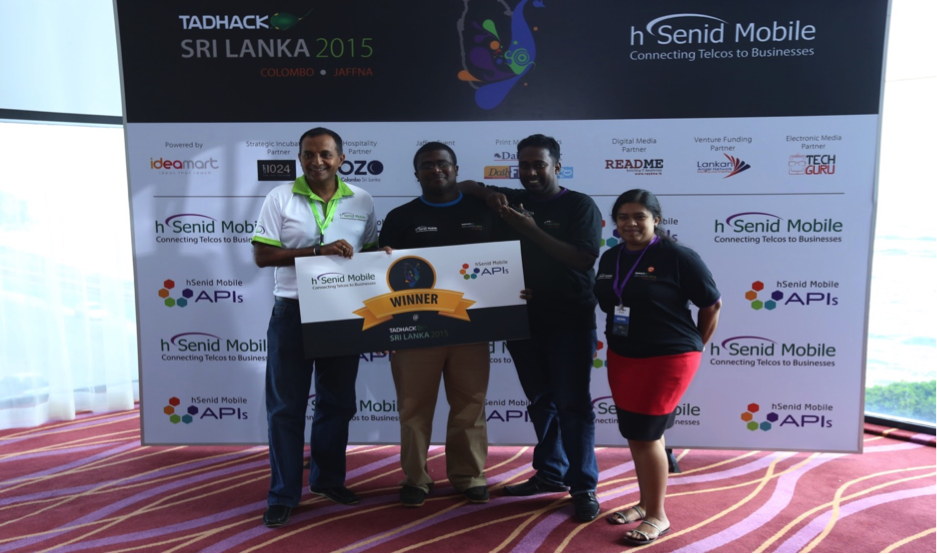 Sri Lanka winner hsenid mobile